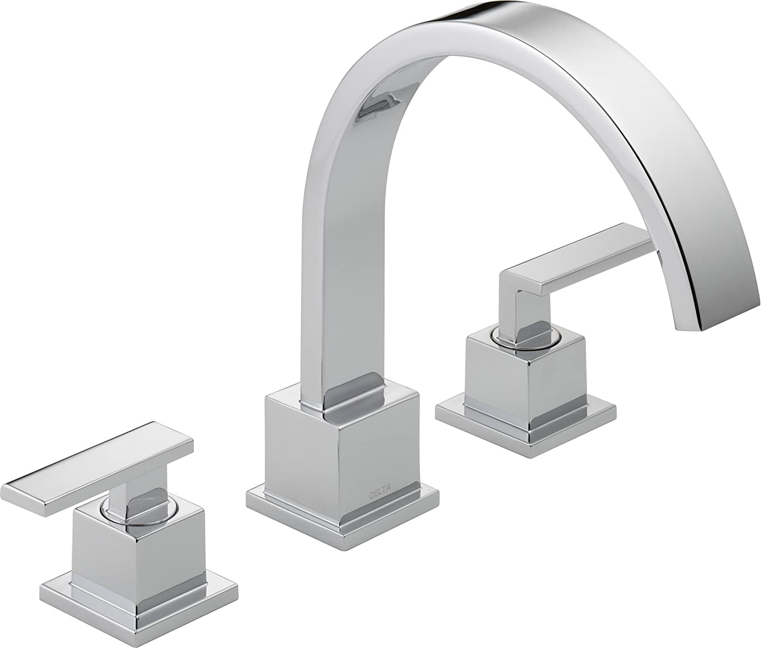 Delta T2753 Vero Roman Tub Trim, Chrome   Two Handle Tub Only Faucets    Amazon.com