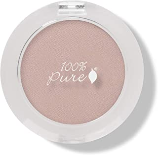 product image for 100% PURE Pressed Powder Eye Shadow (Fruit Pigmented), Ginger, Shimmer Eyeshadow, Buildable Pigment, Easy to Apply, Natural Makeup (Matte Pink Nude) - 0.07 oz