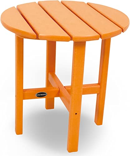 POLYWOOD RST18TA Round 18″ Side Table