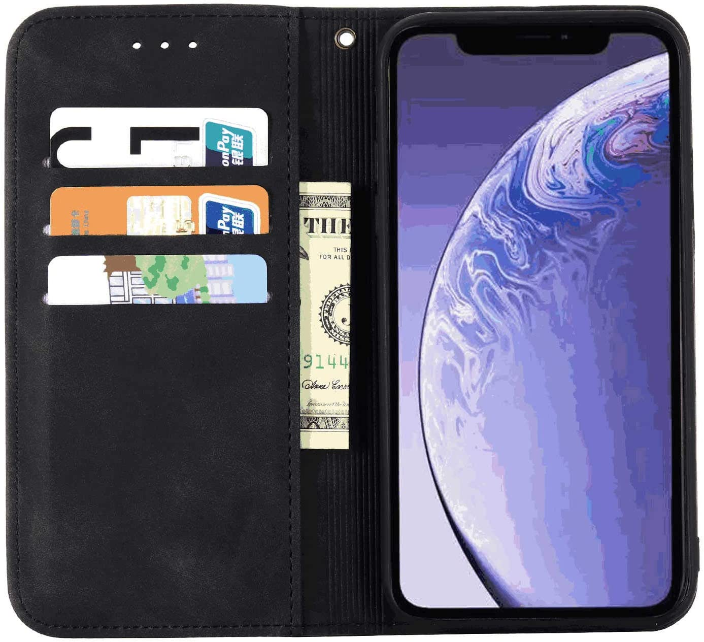 Cover for Leather Kickstand Wallet case Card Holders Extra-Shockproof Business Flip Cover iPhone 7 Plus Flip Case