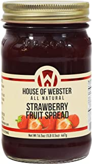 product image for House of Webster Strawberry Fruit Spread - 16.5 oz