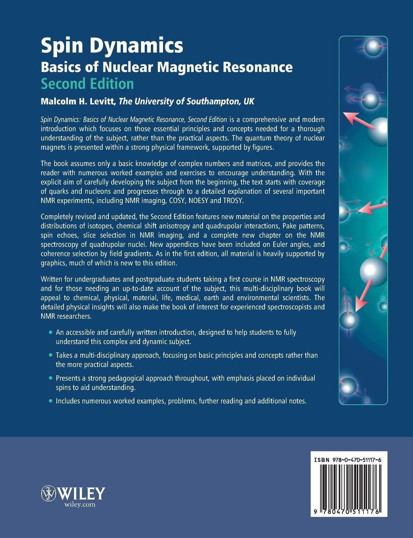 Spin Dynamics: Basics of Nuclear Magnetic Resonance: Amazon