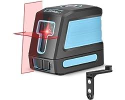 Self Leveling Laser Level - 50ft Cross Line Laser level Laser Line leveler Beam Tool for Construction Picture Hanging Wall Wr