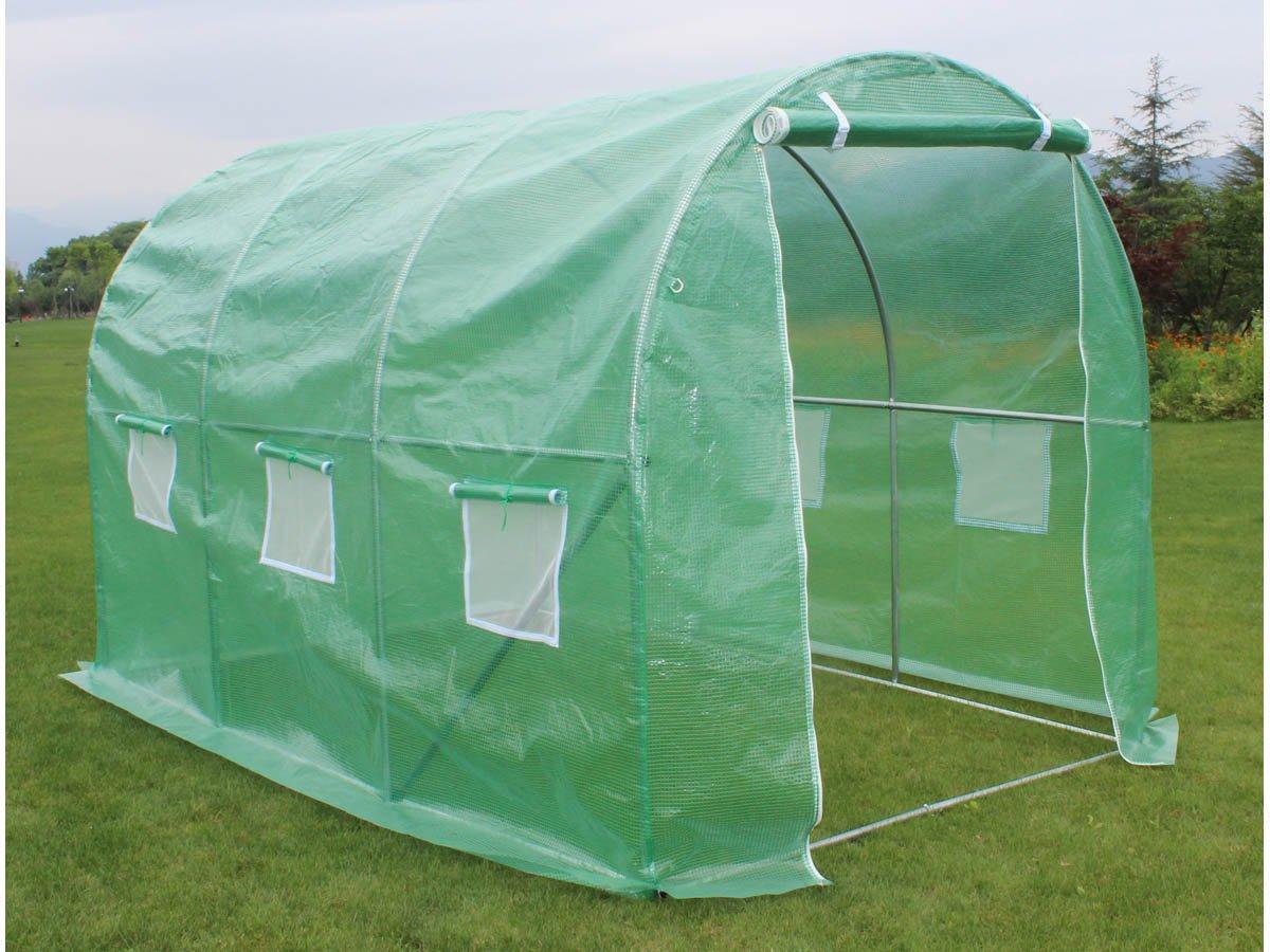 Viva Green 1257_ 67270Althea Green Plastic Garden Greenhouse Tunnel 1257_67270