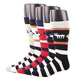 Amazon Price History for:RioRiva Men Formal Dress Trouser Socks Mid Calf Cotton Blend US 7-11/8-14