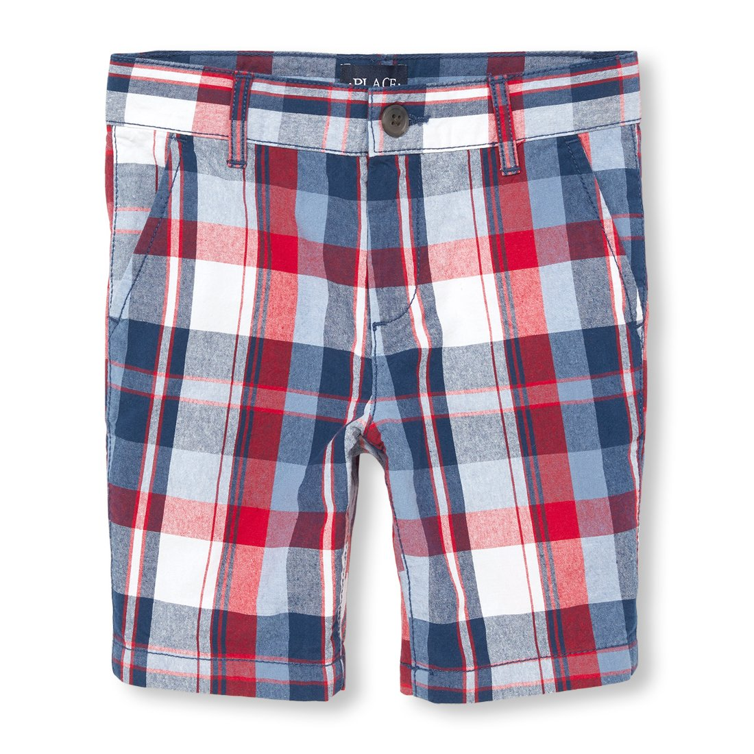 The Children's Place Boys' Big Chino Shorts, CAPTAINNVY 02049, 5 by The Children's Place (Image #1)