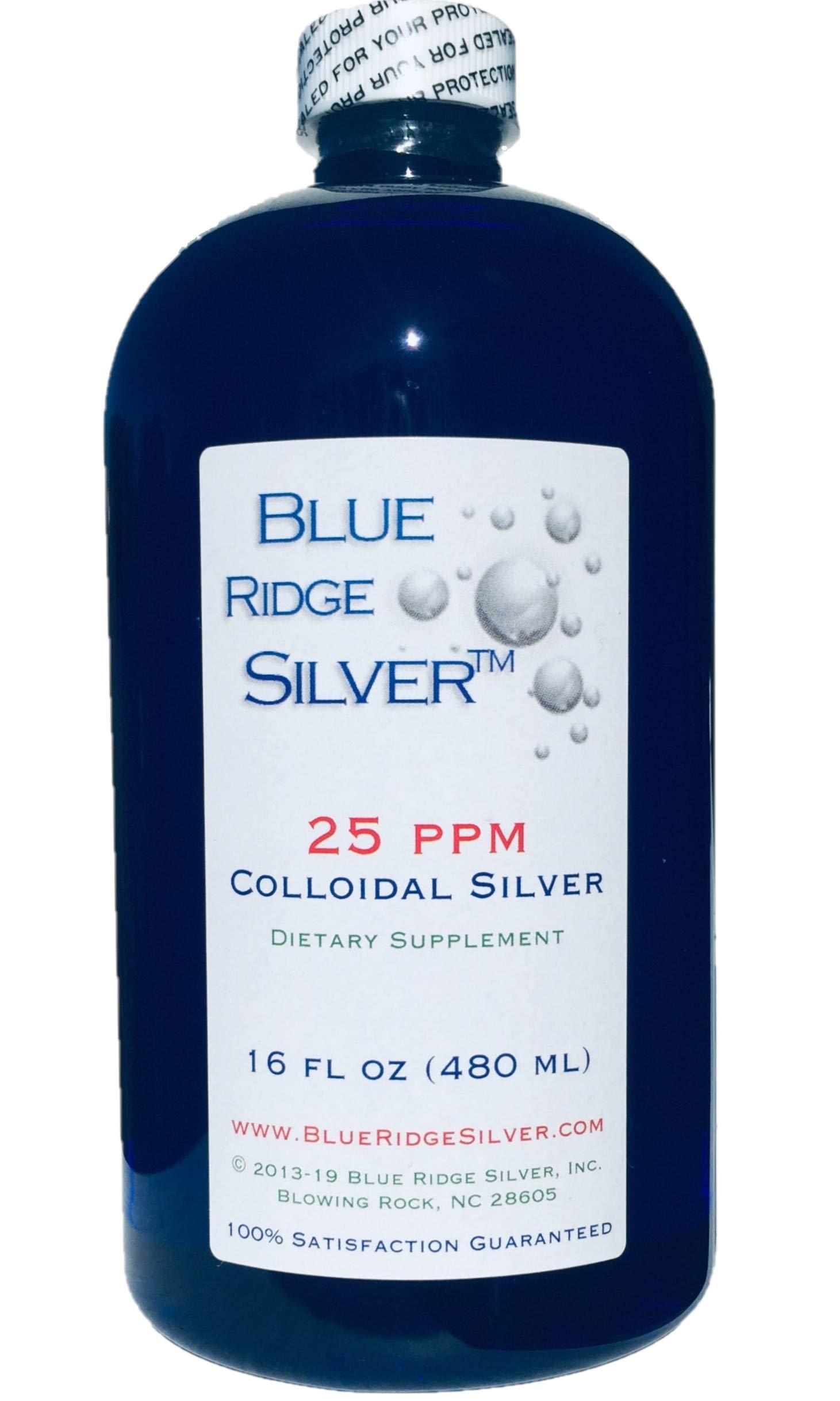 Blue Ridge Silver 25 ppm 16 oz Colloidal Silver by Blue Ridge Silver