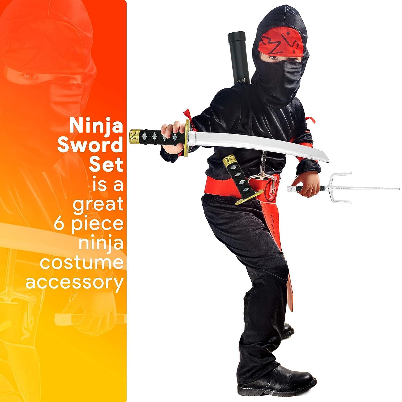 Amazon.com: Juego de juguetes de armas ninja de esqueleto ...