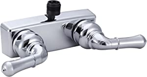 Dura Faucet DF-SA100C-CP RV Shower Faucet Valve Diverter with Classical Handles (Chrome)