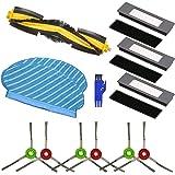 APLUSTECH Kit de 13 Recambios para Ecovacs Deebot OZMO 950 Aspiradora Robot - Cepillo Lateral, Cepillo Principal, Filtro…
