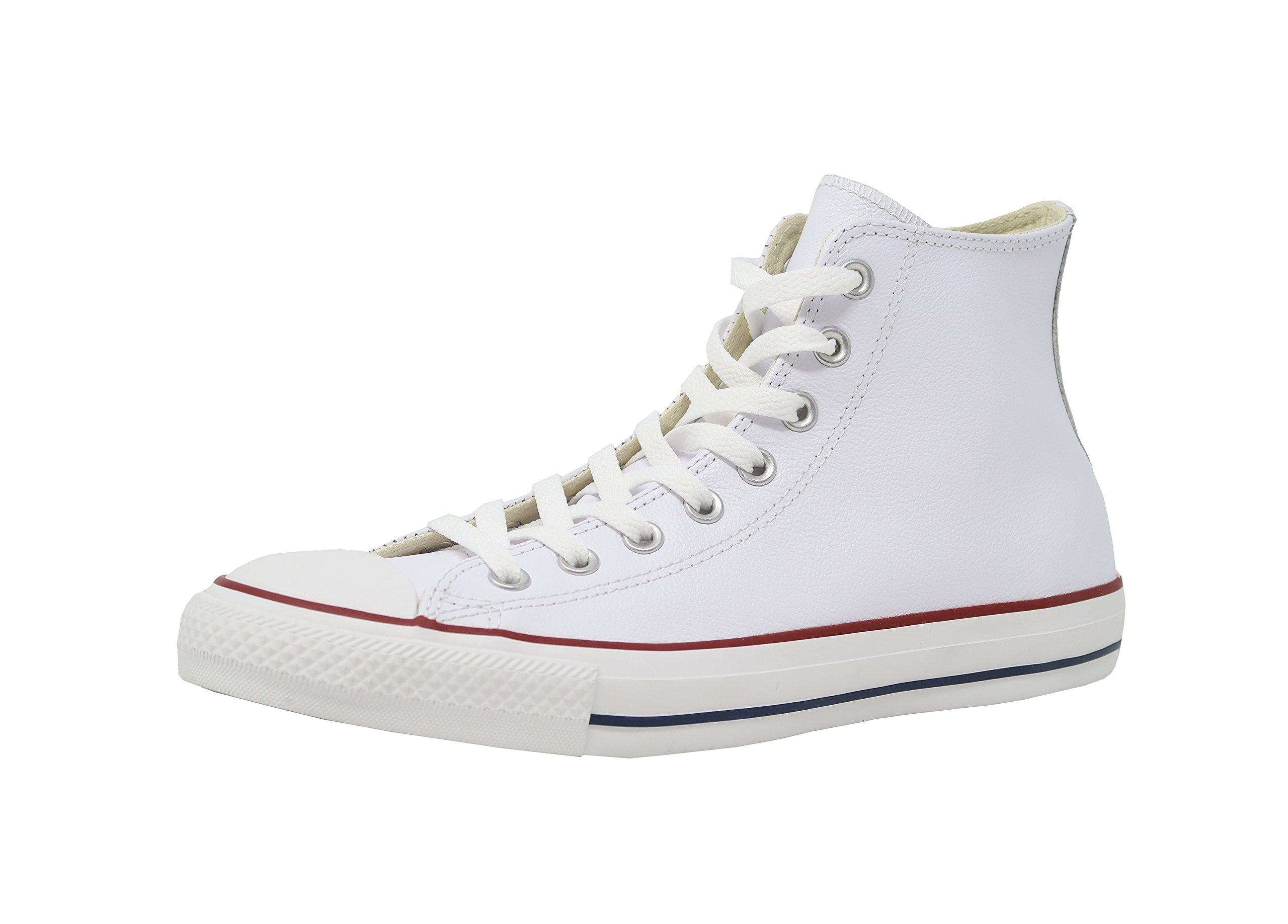 2b7f9d5a8dc6 Galleon - Converse Chuck Taylor Hi Leather White 132169C Size 10.5