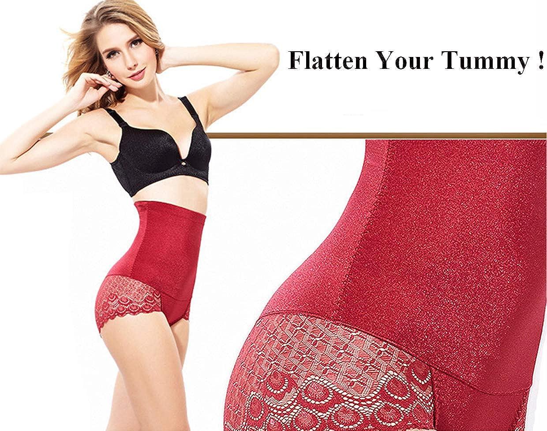 QikeSwim Womens Body Shaper High Waist Stomach Tummy Control Panty Underwear Slimming Shaperwear Waist Trainer for Women