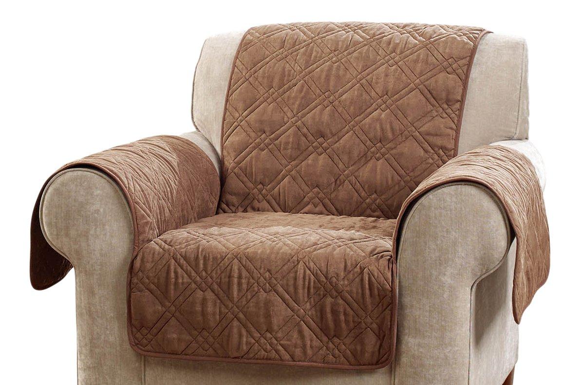 Sure Fit デラックス 滑り止め付き 防水 ペット 椅子家具カバー - ミスト Chair ブラウン SF45034 Chair ブラウン B01MQD4BR8