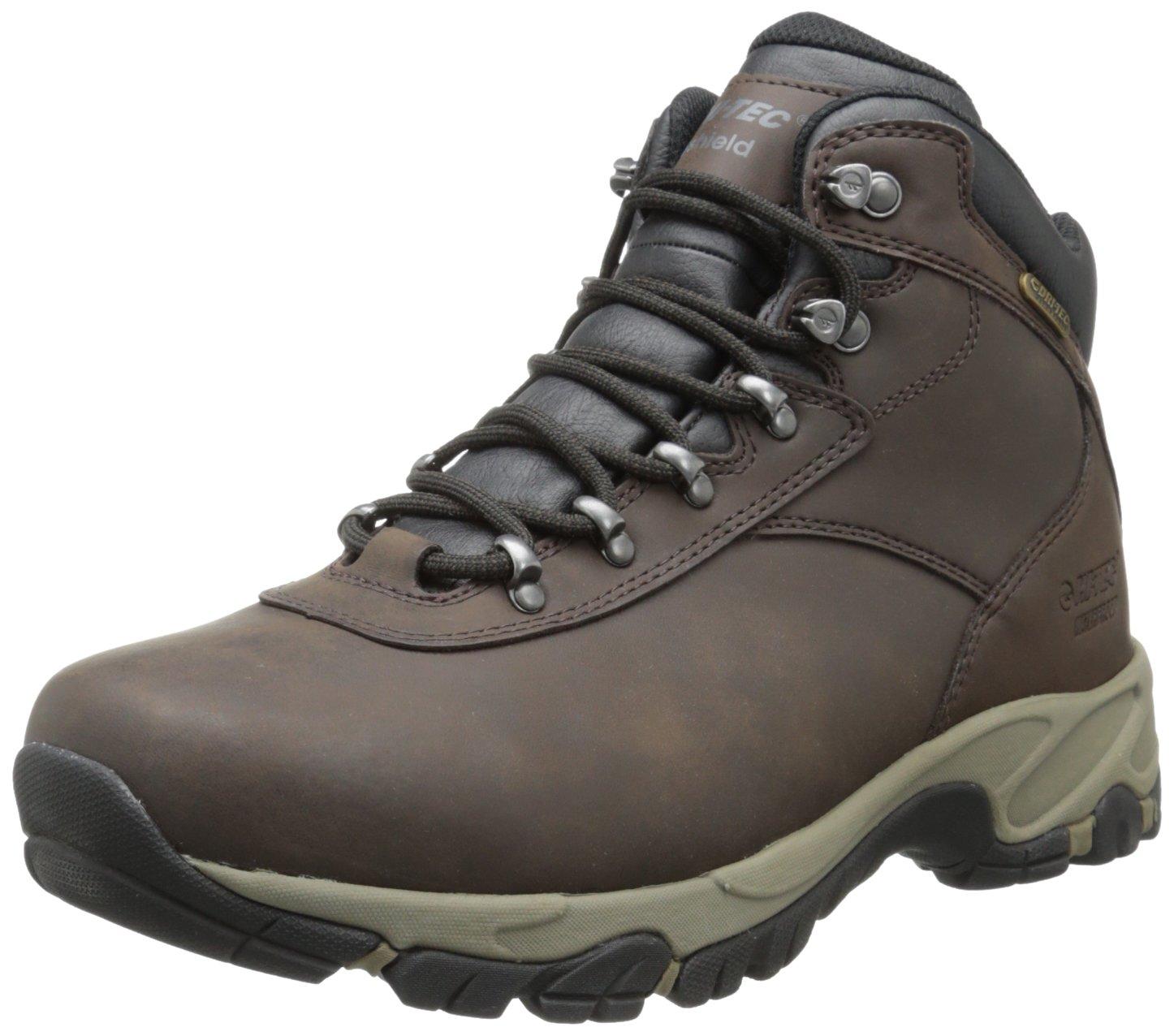 Hi-Tec Men's Altitude V I Waterproof Hiking Boot,Dark Chocolate/Dark Taupe/Black,10 M US