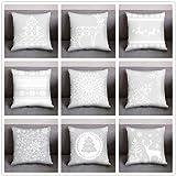 Christmas Pillow Case Covers Home Decorative Sofa