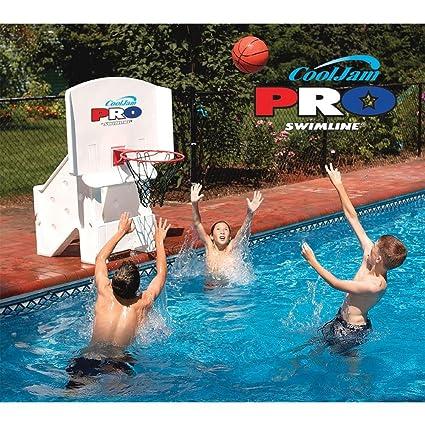 Amazon.com: COOL Jam Pro piscina Baloncesto en color blanco ...