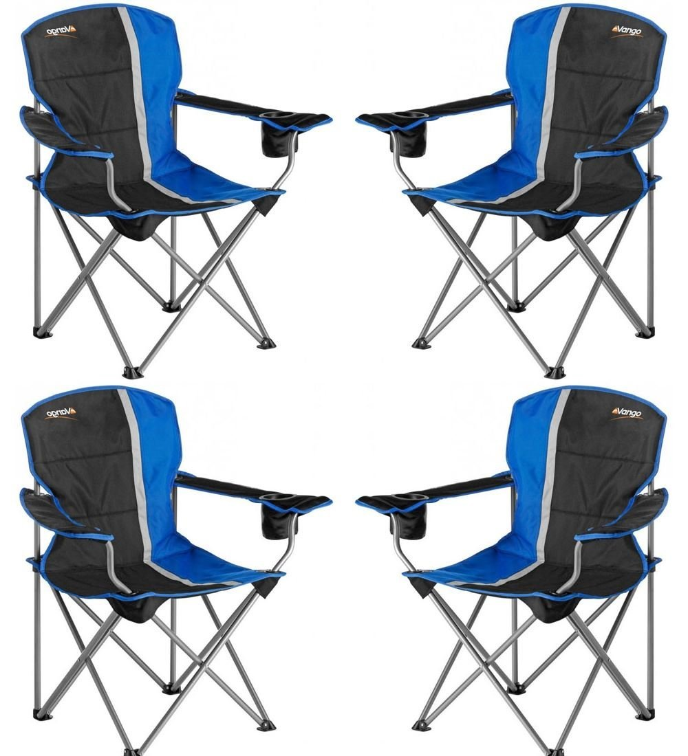 Vango Malibu Stuhl blau x 4