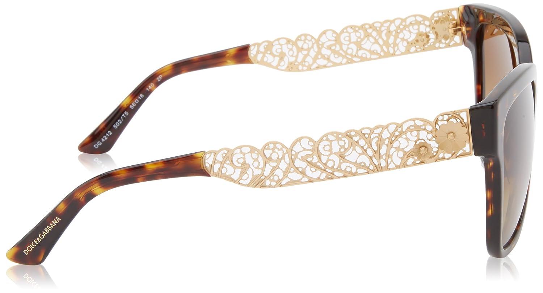 Amazon.com: Dolce & Gabbana dg4212 sunglasses-502/T5 La ...