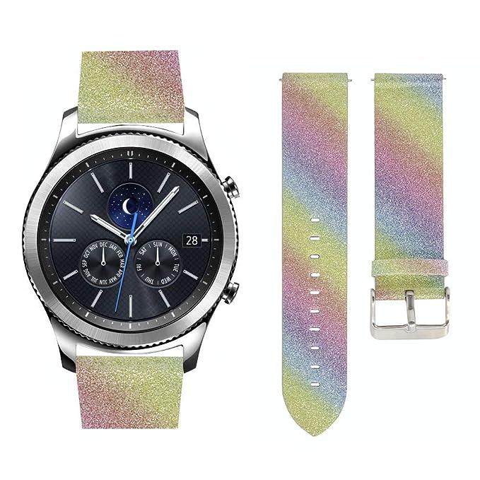 Compatible con Samsung Gear S3 Band Reloj de Pulsera para ...