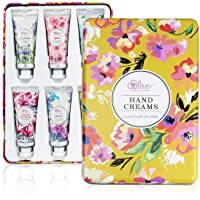 Hand Cream Gift Set - Body & Earth 6 Pack Moisturizing Hand Cream Organic for Women - Enriched with Shea Butter and…