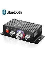 TTMOW Mini Amplificador Bluetooth 4.2 Digital 60W HiFi Audio Amp Super Bass para Tablet PC Portátiles Smartphone Auto Coche MP3 MP4 Altavoces, Color Negro