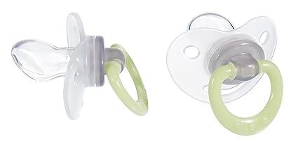 Tigex 80601685 - Pack de 2 chupetes de silicona fisiológicos ...