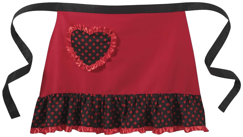 Amazon.com: Valentines Day Polka Dot Heart Skirt   Valentine Red Heart Apron:  Toys U0026 Games