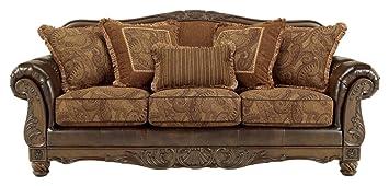 Amazon.com: Firma diseño por Ashley fresco DuraBlend sofá ...