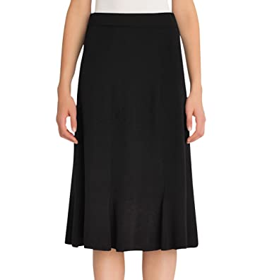 7fc617f1ea11 MISOOK 27'' Gored Skirt, KK06 at Amazon Women's Clothing store: