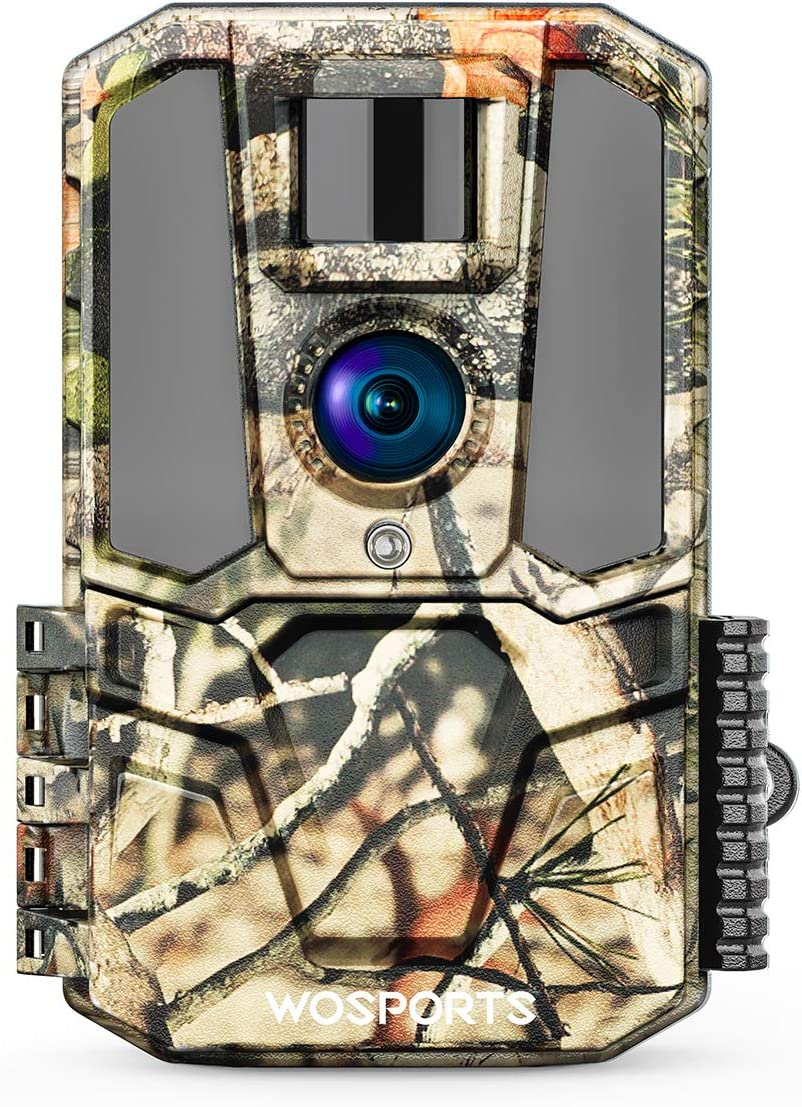 """Trail Game Camera 30MP 1440P HD 2.0"""" Color LCD, Hunting Trail Cam with IR Night Vision Motion Activated for Outdoor Wildlife Monitoring Home Security Waterproof (no Card)"""
