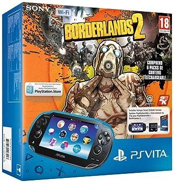 Console Playstation Vita Wifi + Borderlands 2 + Carte Mémoire 4 Go Pour Ps Vita [