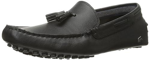 d63bf1d01e7e62 Lacoste Men s Concours Tassle 8 Slip-On Loafer Black  Lacoste ...