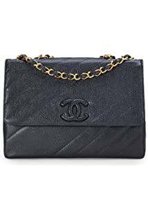 381bb37aef86 CHANEL Blue Denim Timeless Classic Wallet on Chain (WOC) (Pre-Owned ...