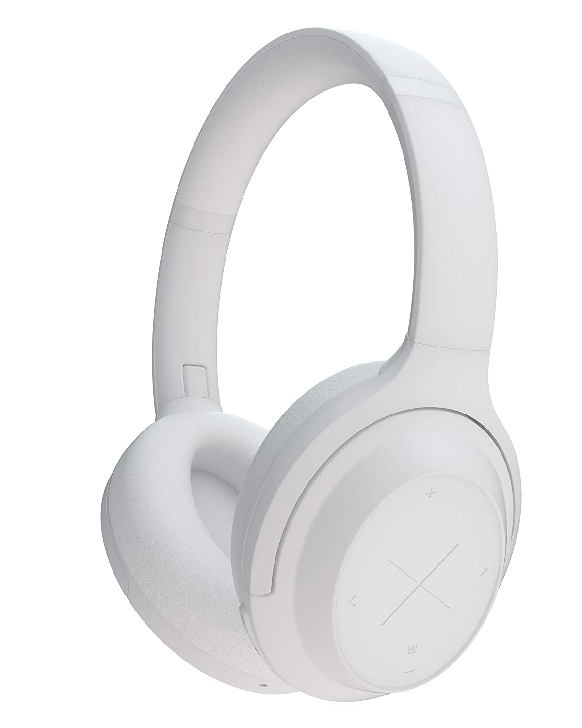 Kygo Life A11/800 | Over-Ear Bluetooth Active Noise Canceling Headphones, aptX and AAC Codecs, Built-in Microphone, Memory Foam Ear Cushions, 40 hours Playback, Kygo Sound App, Pro Line (White)