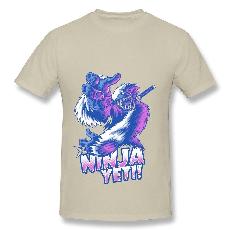 Alida Liuwer Mens Tee New Design Animal Gorilla Ninja Yeti ...