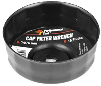 Performance Tool W54113 90mm 15 Flutes Bulk Filter Wrench