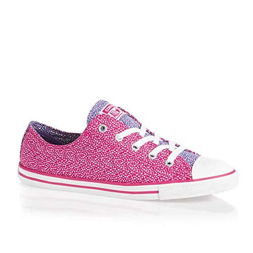 Converse Womens Cosmic Pink Dainty Ox Trainers 544929