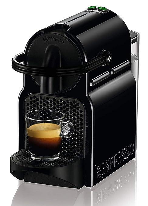 Nespresso Inissia cafetera café Espresso cápsulas 19 Bars Negra