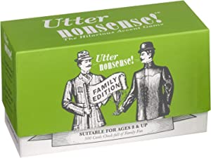 Utter Nonsense Family Edition - The Game of Funny Voices and Accents!