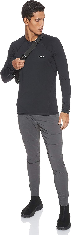 Midweight Stretch Transpirable Columbia Hombre Camiseta Interior de Manga Larga