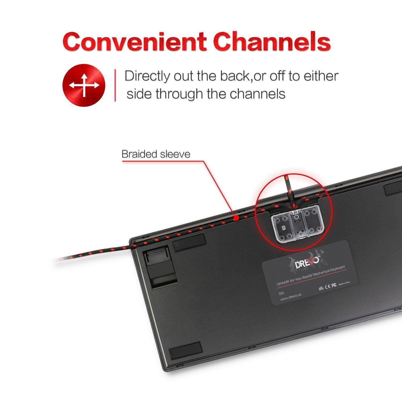 DREVO Gramr 84 Key Gaming Wired Mechanical Gaming Keyboard Backlit – Light Keyboard Wiring Diagram
