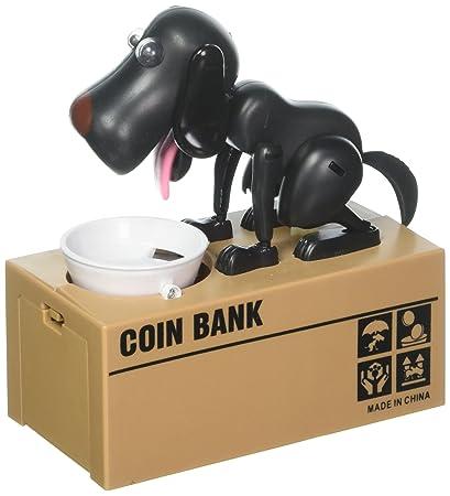 Amazoncom Puppy Dog Hungry Coin Bank Eating Munching Money Box