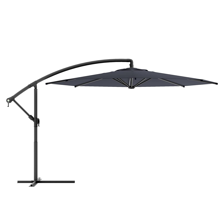 Amazon CorLiving PPU 400 U fset Patio Umbrella Black