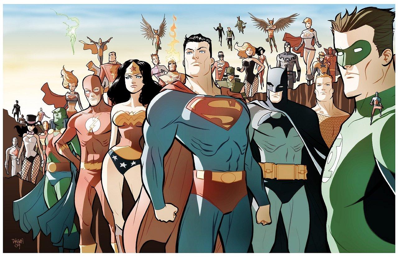 Posterhouzz Comics Justice League Of America Hd Wallpaper
