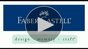 Faber-Castell 121814 - Estuche con 12 gelatos y 3 accesorios: Amazon.es: Oficina y papelería