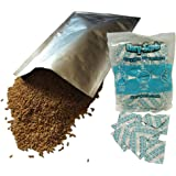 20-1 Gallon 10-Inch by 16-Inch Mylar Bags and 300cc Oxy-Sorb Oxygen Absorbers for Long Term Food Storage Preservation