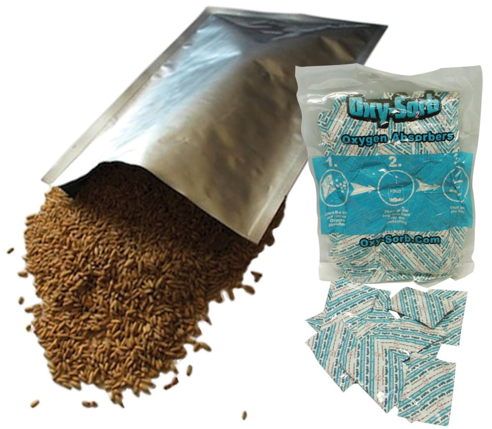 400 - 1 Gallon Mylar Bags & Oxygen Absorbers for Dried Food & Long Term Storage by Dry-Packs! by Oxy-Sorb