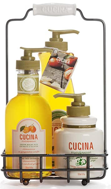 Amazon.com : Fruits and Passion\'s Cucina Trio Gift Set - Clementine ...