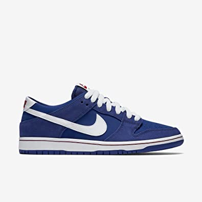Nike Dunk Low Pro IW Skateboarding-Shoes Deep Royal/Gym Red/White/