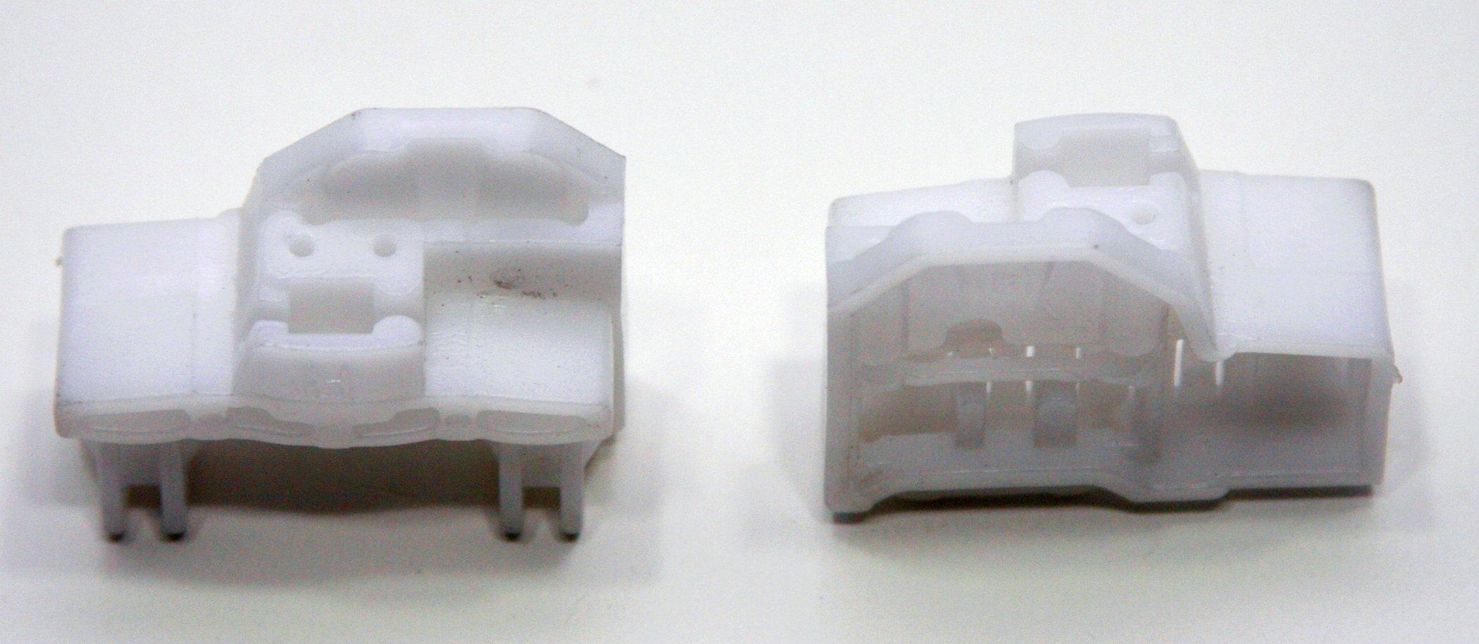 RegulatorFix Window Regulator Repair Clips (2X) - Front Right (Passenger Side Pair) Pair for Audi A4 (B5)